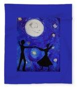 Moonlight Dance Fleece Blanket