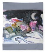 Moonlight Fever Fleece Blanket