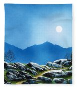 Moonlight Hike Fleece Blanket