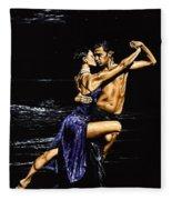 Moonlight Tango Fleece Blanket