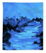 Moonlight Trek Fleece Blanket