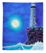 Moonlight Vigil Fleece Blanket