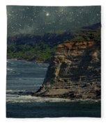 Moonlit Cove Fleece Blanket