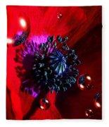 Moonlite Poppy Drops Fleece Blanket