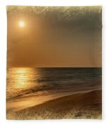 Moonscape 2 Fleece Blanket