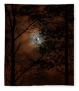 Moonshine 04 Bad Moon Rising Fleece Blanket