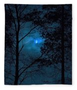 Moonshine 10 Blue Sky Fleece Blanket