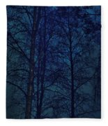Moonshine 12 Blue Sky Fleece Blanket