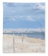 Moonstone Beach Fleece Blanket