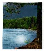 Moonstruck 'my Starry Night' Fleece Blanket