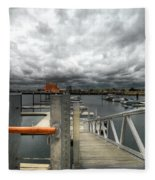 Moorings Fleece Blanket