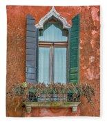 Moorish Window And Texture Venice_dsc5350_03052017 Fleece Blanket