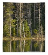 Moose Creek Reservoir Fleece Blanket