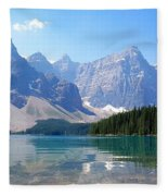 Moraine Lake Down Low Fleece Blanket