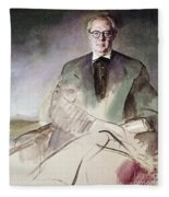 Morcillo: Portrait, C1930 Fleece Blanket