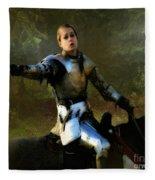 Mordred Rallies His Troops Fleece Blanket