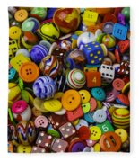 More Beautiful Marbles Fleece Blanket