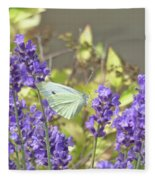 More Lavender Love Fleece Blanket