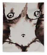 More Than Series No. 1381 Fleece Blanket