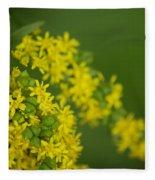 More Yellow Fleece Blanket