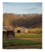 Morgan County Farm Valey Fleece Blanket