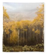 Morning Burn Fleece Blanket