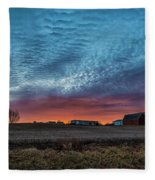 Morning Color Fleece Blanket