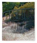 Morning Dew At Pendleton Park 2 Fleece Blanket