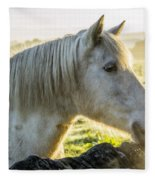 Morning Encounter Fleece Blanket
