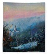 Morning Frost Fleece Blanket