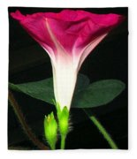 Morning Glory Stand Up Fleece Blanket
