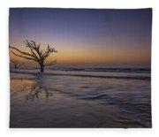 Morning Glow On Edisto Island Fleece Blanket