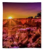 Morning Has Broken 2-painterly Fleece Blanket