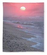 Morning Haze Fleece Blanket