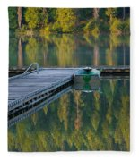 Morning Light Fleece Blanket