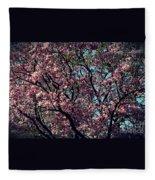 Morning Lit Magnolia Fleece Blanket