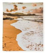 Morning Marine Wash Fleece Blanket
