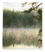Morning Mists Fleece Blanket
