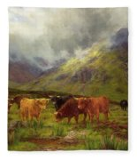 Morning Mists Fleece Blanket