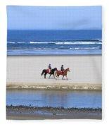 Morning Ride Fleece Blanket