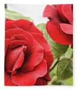 Morning Roses Fleece Blanket
