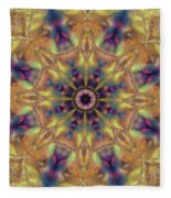 10300 Morning Sky Kaleidoscope 01a Fleece Blanket