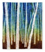 Morning Song II Fleece Blanket