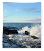 Morning Splash 2 Fleece Blanket