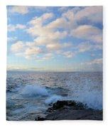 Morning Splash Fleece Blanket