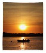 Morning Sunrise 09-02-18 # 11 Fleece Blanket