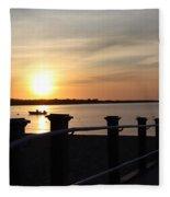 Morning Sunrise 09-02-18 #10 Fleece Blanket