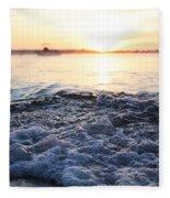 Morning Sunrise 09-02-18 #8 Fleece Blanket