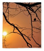 Morning Sunrise Fleece Blanket