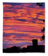 Morning Sunrise Fleece Blanket